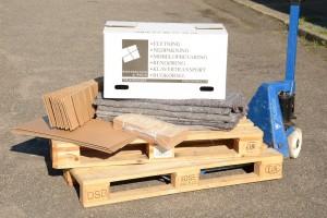 Westerlund og Wølk har et bredt udvalg af kvalitetsflyttematerialer