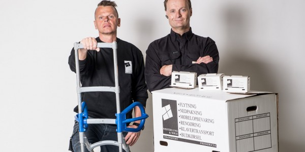 John Wølk (tv.) og Niels Vesterlund